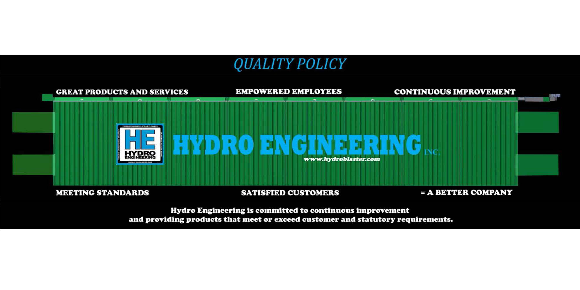 Hydro Engineering Quality Policy